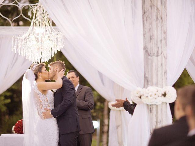 O casamento de Aline e Leonardo