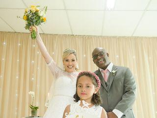O casamento de Elaine e Anderson