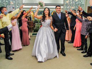 O casamento de Karen e Rogério