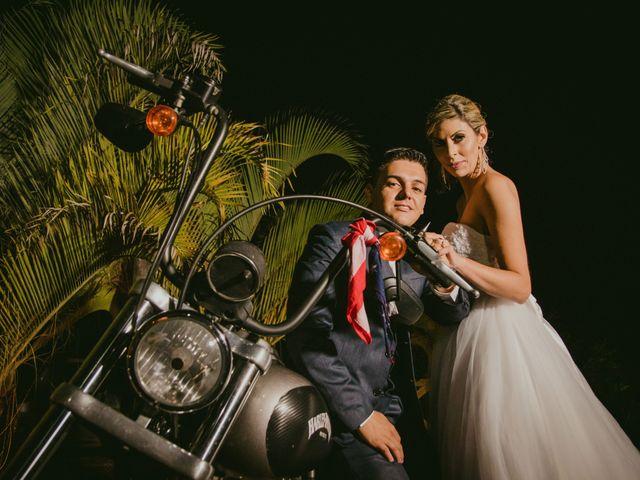 O casamento de Dulli e Junior