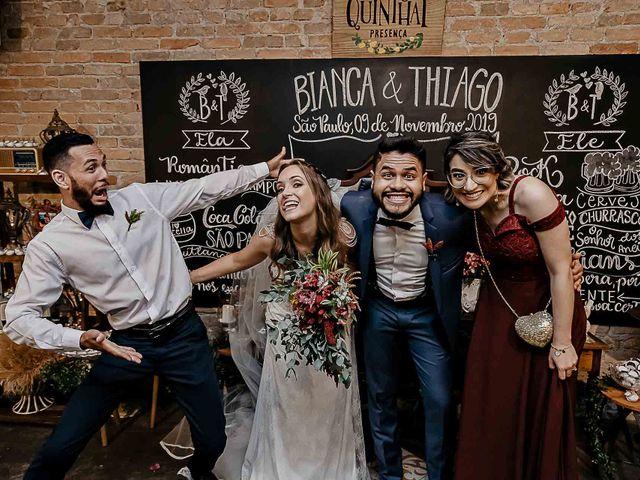 O casamento de Thiago e Bianca em São Paulo, São Paulo 73