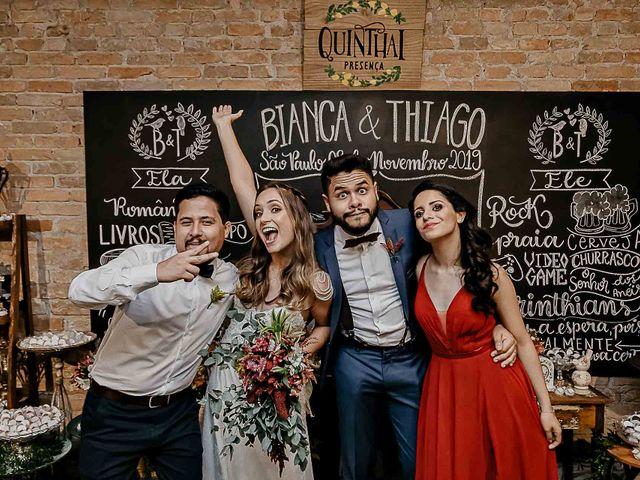 O casamento de Thiago e Bianca em São Paulo, São Paulo 78