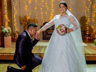 O casamento de Izabela  e Wellyson