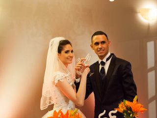 O casamento de Sabrina e Everton