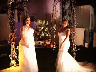 O casamento de Érika e Helena