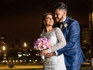 O casamento de Tatiane e Bruno