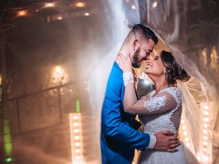 O casamento de Raquel e Leandro