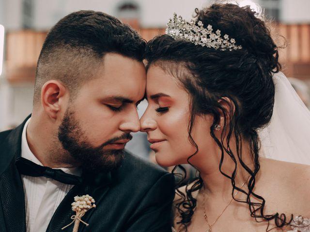 O casamento de Ester e Matheus