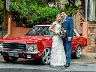 O casamento de Aline e Dalmo
