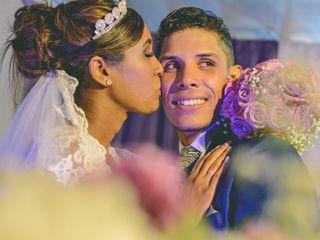 O casamento de Silvana e Erick