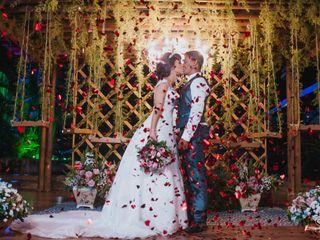 O casamento de Camila e João Paulo