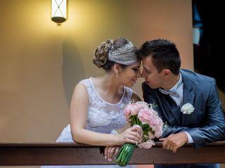 O casamento de Larissa e Uriel