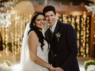 O casamento de Patrícia e Anderson