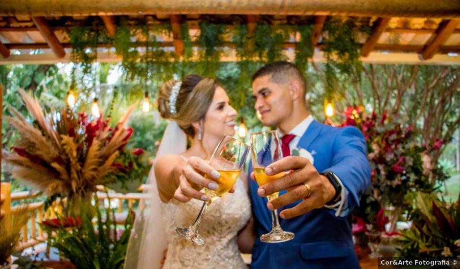 O casamento de Witney e Kezia em Vespasiano, Minas Gerais