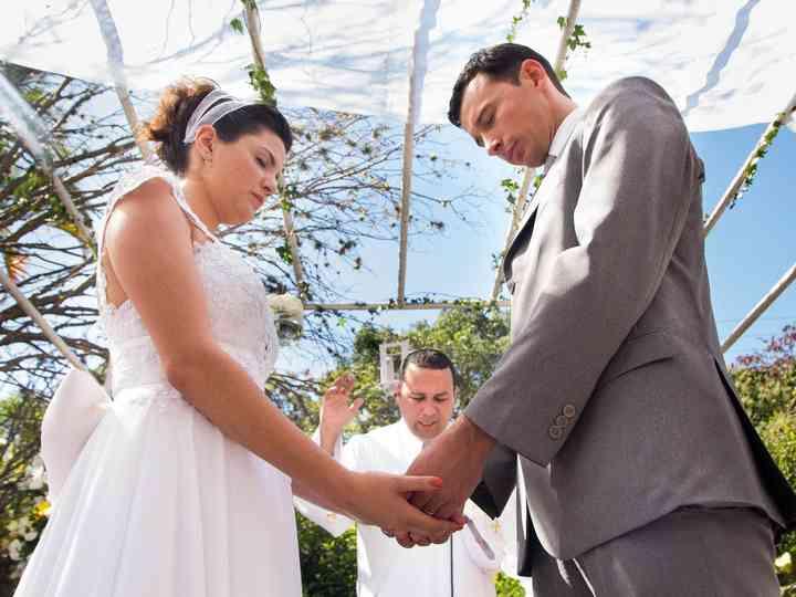O casamento de Carol e Evandro