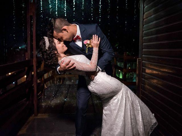 O casamento de Giovana e Leandro