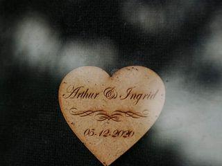 O casamento de Arthur  e Ingrid  1