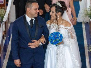 O casamento de Elvira e Roberto