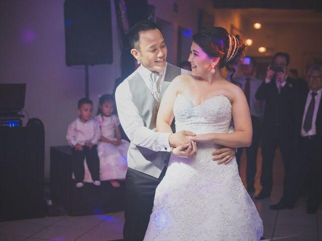 O casamento de Sanae e Leandro