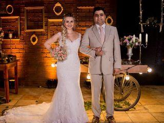 O casamento de Ariele Cristine  e Kilmer
