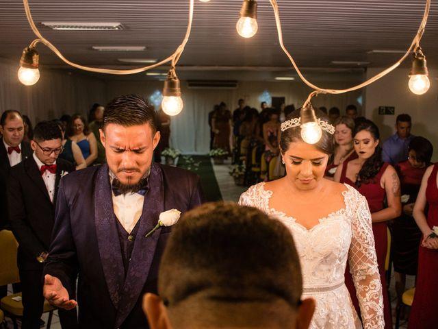 O casamento de Thaty e Dailson