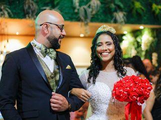 O casamento de Rivelino e Angela