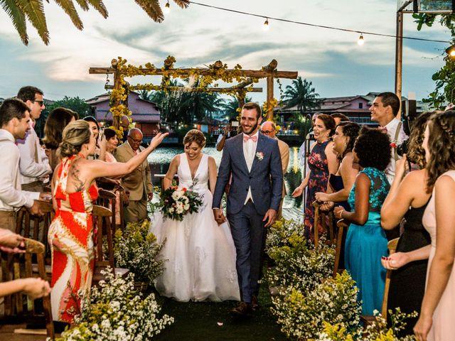 O casamento de Clarissa e Lourenço