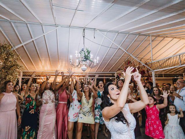 O casamento de Flávio e Niely em Jaboticatubas, Minas Gerais 78