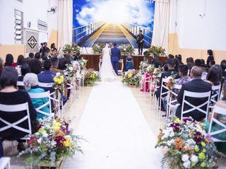 O casamento de Gabriely  e Mayle  3