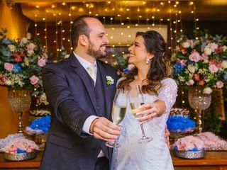 O casamento de Jamil e Celma