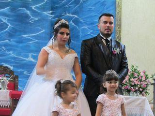O casamento de Fabiani e Cássio