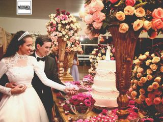 O casamento de Priscilla e André