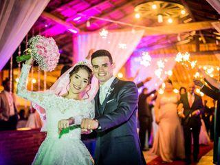 O casamento de Daniel e Pamela