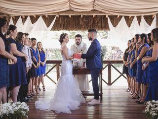 O casamento de Carla e Tiago 1