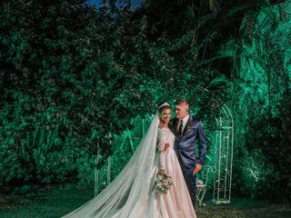 O casamento de Keren e Lucas