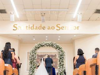 O casamento de Bárbara e Caliel 1