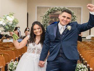 O casamento de Bárbara e Caliel