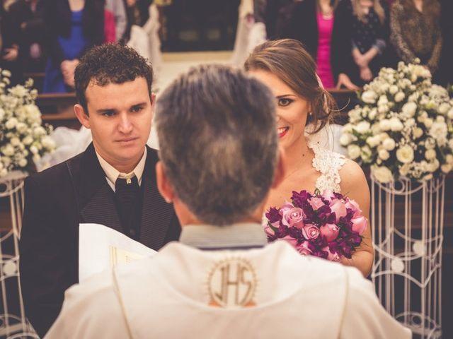 O casamento de Regiane e Maicon