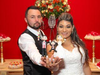 O casamento de Paula e Junior