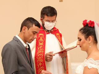 O casamento de Jane e Igor