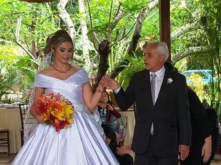 O casamento de Aliana e Wemrson 1