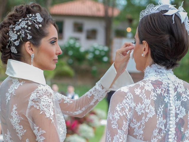 O casamento de Sarah e Fabiana