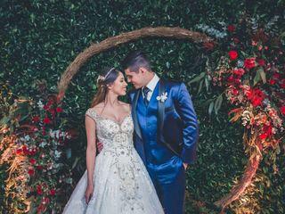 O casamento de Daniela e Caique