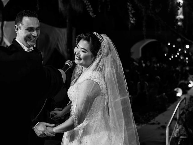 O casamento de Agens e Mauro