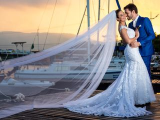 O casamento de Fábia e Leandro