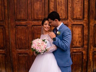 O casamento de Regi e Otavio