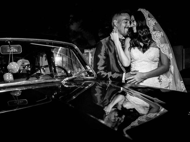 O casamento de Carolina e Leandro