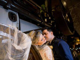 O casamento de Larissa e Sergio