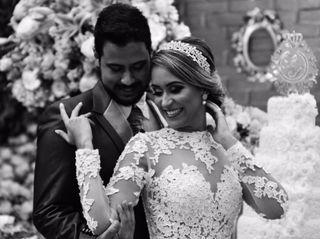 O casamento de Tuane e Luciano
