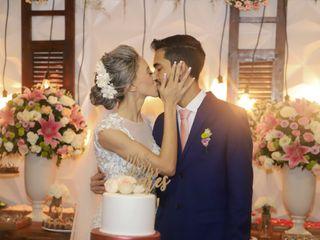 O casamento de Jakeline e William